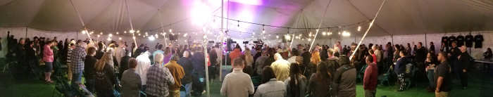 tent meeting Marysville 2019